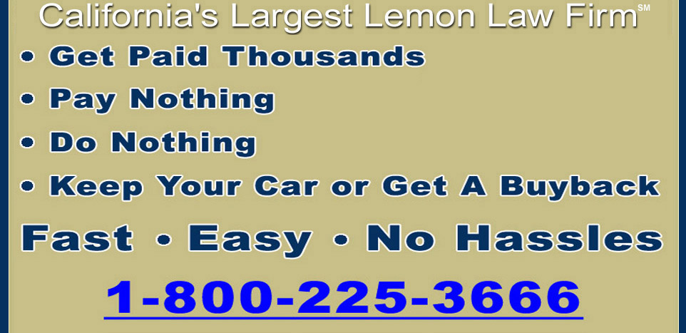 Lemon Law California >> California Lemon Law Faq S Frequently Asked Questions